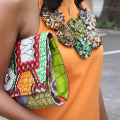 African fashion making a difference to modern, western society.  http://asikereafana.com/accessories/