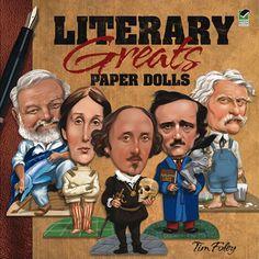 Literary Greats Paper Dolls