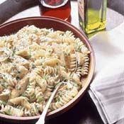 Grilled-Chicken Pasta Salad with Artichoke Hearts Recipe