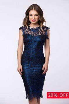 Black Friday Blue Dress