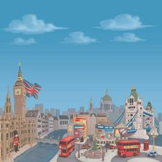 amazing scrapbook paper source for scrapping a trip to london!