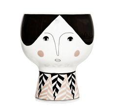 Image of Flower me happy pot - Alba