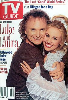 General Hospital....Boy do I ever remember the entire Luke and Laura saga on GH.