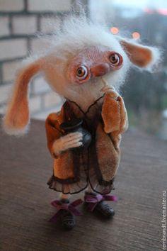 Куклы и игрушки ручной работы. Белый Шептунчик. Оля и Даша. Интернет-магазин Ярмарка Мастеров. Зайка