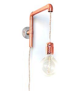 Aplique Trombo de Batlló Concept hecho con tubería de cobre