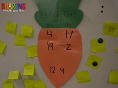 After reading the book, Tops & Bottoms by Janet Stevens, we discussed if Hare was fair or not.