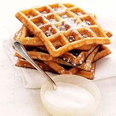 Découvrez la recette Gaufres vanillées sur cuisineactuelle.fr.