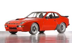 "FromporshlebenFrom Cargears.net ""At first glance, you might think you're looking at a 944, but you'd be mistaken. This is the 924 Carrera GT, a roadgoing version of the turbocharged 924 that Porsche took to Le Mans in the early 1980s. The #924 Carrera GT predates the #944 and you can see what Porsche had in mind when designing the latter. Only 426 were built, making it substantially rarer than the Carrera GT supercar of the mid 2000s."" Great site for motorheads like you!"