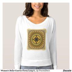 Women's Bella+Canvas Flowy Long Sleeves Sacred T-shirt
