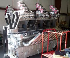 "24-Cylinder ""Big Mike"" Detroit Diesel is a Sight and Sound to Behold 