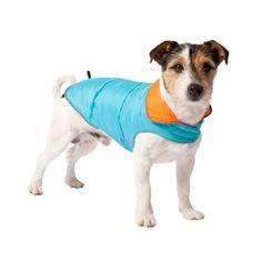 #Adori #Honden jas omkeerbaar blauw / oranje 30 cm  | Nieuw bij #PetsPlace
