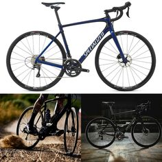 Check out the Latest Road Bikes like this Specialized Roubaix Comp Road Bike 2017 Blue/Black available at Leisure Lakes Bikes http://tidd.ly/e8c7e11a