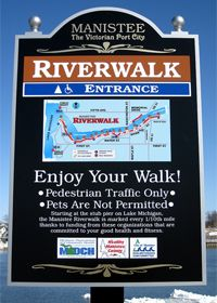 Manistee River Walk