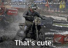 The love for motocross!