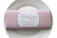 Personalised chocolate bars for your parties, wedding, christenings and corporate events -what a great idea!