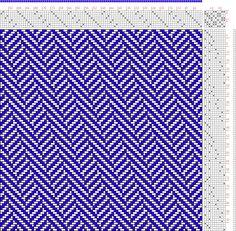 Hand Weaving Draft: Figure 327, Construction of Weaves No. 5, 8S, 10T - Handweaving.net Hand Weaving and Draft Archive