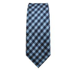 Cravatta Stretta, a motivi blu