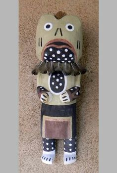 Paakwa	 A Paakwa or Frog katsina by Jerel Quamahongnewa. is important because of its association with the beginning of the crucial rainy season that signals the renewal of the cycle of life for all living things. There is a species of frog in the desert Southwest called the spadefoot toad (Scaphiopus couchii) which comes out of hibernation with the first hard summer rain. They can be heard croaking their mating call almost before the storm subsides, giving the impression they fell with the…