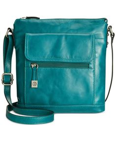 Designer Clothes, Shoes & Bags for Women Blue Shoulder Bags, Shoulder Purse, Giani Bernini Handbags, Cross Body Handbags, Tote Handbags, Leather Purses, Leather Handbags, Teal Handbag, Cute Bags