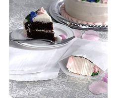 White Wedding Cake Bags - Party City