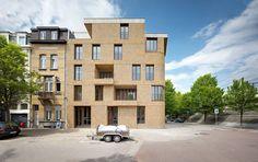 De gouden liniaal architecten -  Statielei, Antwerpen