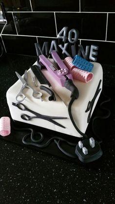 Hairdresser's cake More