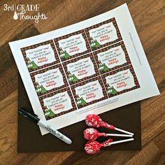 3rd Grade Thoughts: Ho-Ho-Holiday Gifts for Your Students {2014 Link-Up}