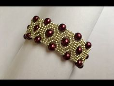 DIY Beaded bracelet(TUTORIAL) - YouTube