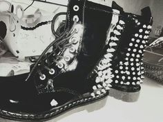 doc martins with studs