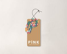 Pink Hangtag on Behance