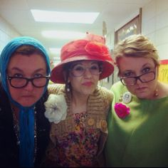 Dressing up like you are 100 years old on the 100th day of school. :) so much fun!
