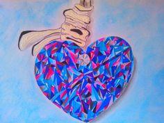 Joyería; Corazón Swarovski...