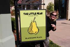 Sara at The Little Pear restaurant in California @TasteLiveGo