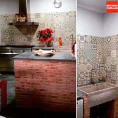 We love seeing how our ceramics take part of your homes! #Heritage tile collection