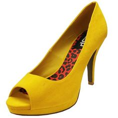 THAISALE - High Heels-Deni-01-Mustard @ www.thaisale.co.th