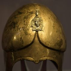 Bronze helmet from the Tomb of Seuthes III, 3 | by diffendale