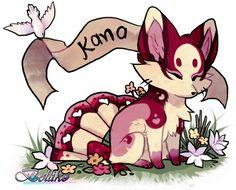 Kana, Foxfan of the Month by Belliko-art.deviantart.com on @DeviantArt