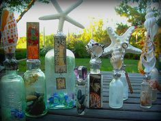 Altered Bottle Art -…