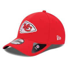 newest 7dbe1 2fd97 Mens Kansas City Chiefs New Era Red 39THIRTY Team Classic Flex Hat, Your  Price