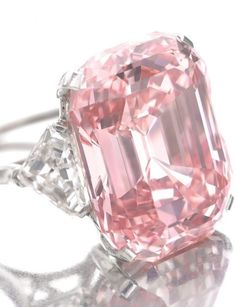 47 Million Dollar Pink Diamond over 24 carats