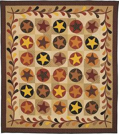 Stars of the Old West  Pattern and Kit available at www.nancyrinkdesigns.com