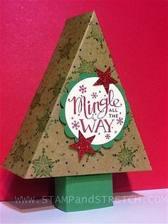 """Stamp and Stretch: Oct.""""My Paper Pumpkin"""" kit goes Christmas"""