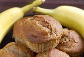 No-Fat Banana Applesauce Muffins