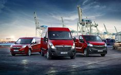 Download wallpapers Opel Commercial, 4k, 2017 cars, Opel Combo, Opel Movano, Opel Vivaro, german cars, Opel