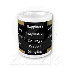 Cup of Wisdom Virtue Inspirational Mug