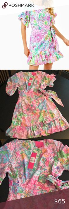 Lilly Pulitzer Darlah Stretch Dress size 4 NWT Perfect condition, never worn Size 4 Lilly Pulitzer Dresses Mini