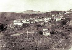 Kalaba Köyü, Sene 1941... Sağdaki tepenin üzerinde Ziraat Mektebi, arka planda Altındağ... @Antoloji_Ankara