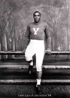Another Alpha Phi Alpha Pioneer:      In 1948, Bro. Levi Jackson became first African American to captain ANY Ivy League college team (period). Alpha Phi Alpha Fraternity has had a strong early presence on Ivy League campuses, and was formed on the campus of Yale University in 1909 (Zeta Chapter).   Not only did He excel athletically and academically, but Bro. Jackson also went on to become the First African-American executive at the Ford Motor Company.        #ThereGoesAnAlphaMan