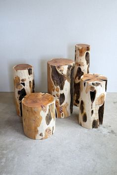 Max Lamb Chatsworth_Yew_Logs_03