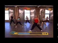 Hiphop abs fat burning cardio dance exersice
